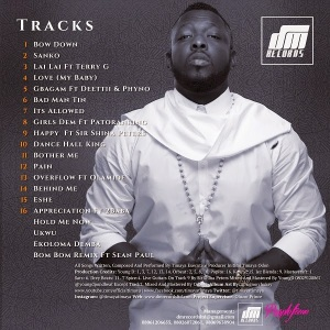 Timaya-Epiphany-Tracklisting-Updated